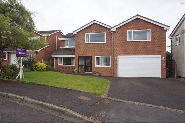 Thumbnail Detached house for sale in Bosburn Drive, Blackburn