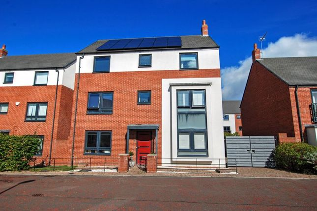 Thumbnail Detached house for sale in Learmouth Way, Newcastle Upon Tyne