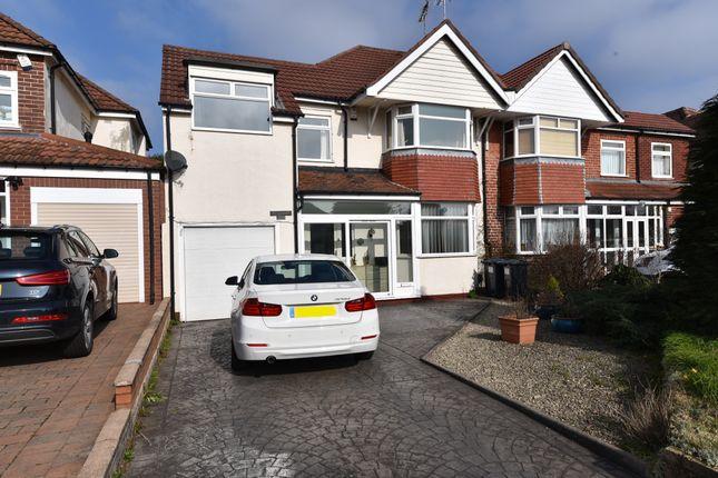 Thumbnail Semi-detached house for sale in Quinton Road, Harborne, Birmingham