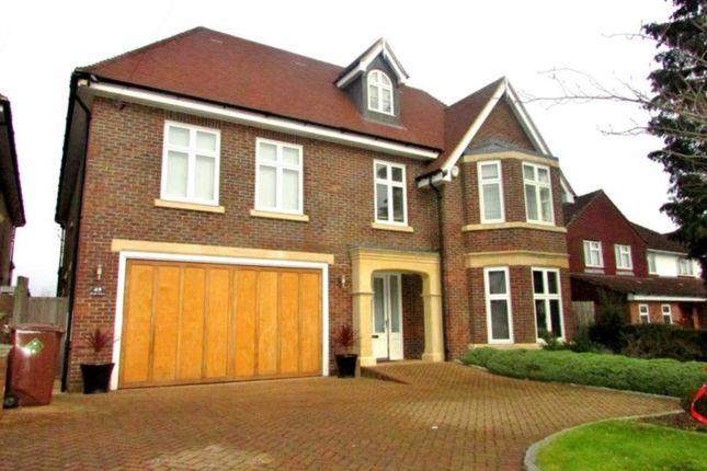 Thumbnail Detached house to rent in Barham Avenue, Elstree, Borehamwood