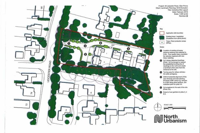 Thumbnail Land for sale in Leicester Road, Glen Parva, Leicester