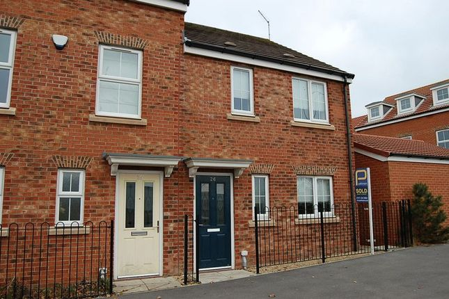Thumbnail Terraced house to rent in Russell Close, Wallsend