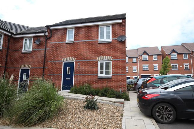 Thumbnail End terrace house to rent in Greenhalgh Crescent, Ilkeston