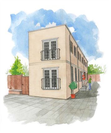 Thumbnail Semi-detached house for sale in Old Mustard Mews, Newport Pagnell