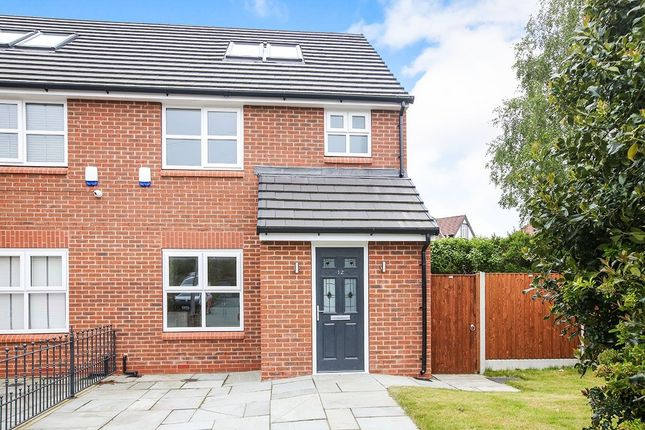 Thumbnail Semi-detached house for sale in Forbes Close, Stockport
