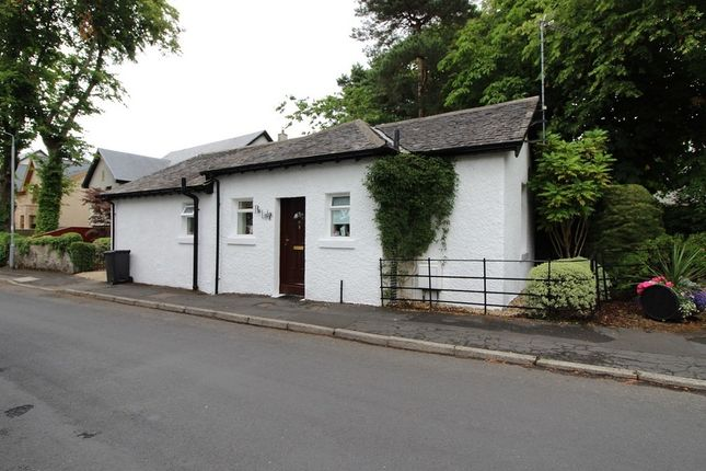 Thumbnail Detached bungalow for sale in The Lodge, Albert Road, Brookfield, Johnstone, Renfrewshire