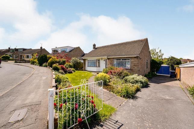 Thumbnail Bungalow for sale in Bushcombe Close, Woodmancote, Cheltenham, Gloucestershire