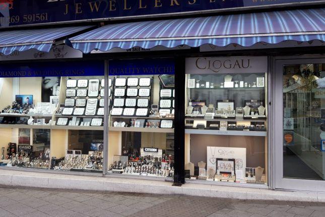 Thumbnail Retail premises for sale in Ammanford, Carmarthenshire