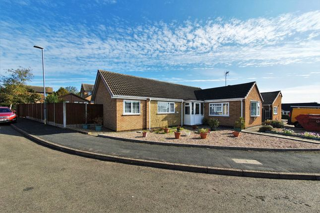 Thumbnail Detached bungalow for sale in Baysdale, Wigston
