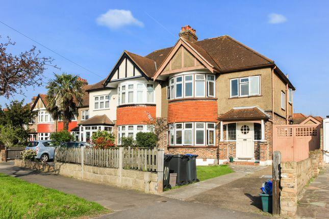Thumbnail Semi-detached house to rent in Raeburn Avenue, Berrylands, Surbiton