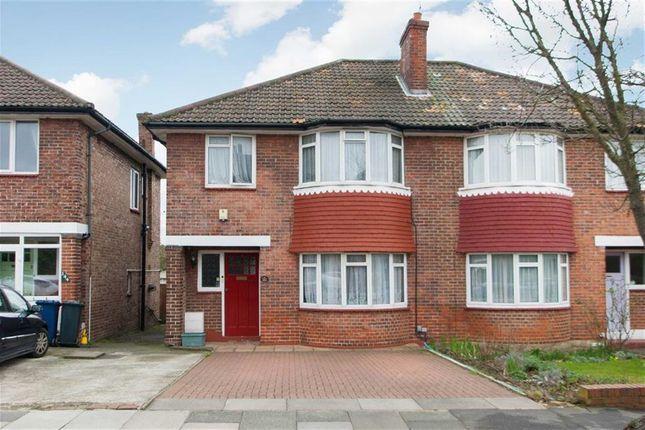 Thumbnail Semi-detached house for sale in St. Dunstans Avenue, London