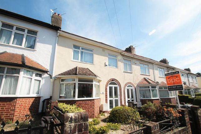 Thumbnail Terraced house to rent in Beverley Road, Horfield, Bristol