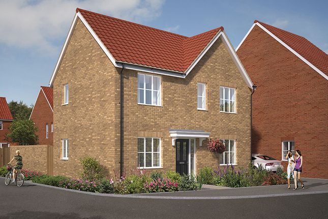 "Thumbnail Detached house for sale in ""The Dalton"" at Great Melton Road, Hethersett, Norwich"