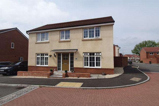 Thumbnail Detached house for sale in Brynteg Green, Beddau, Pontypridd