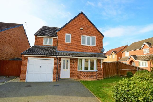 Thumbnail Detached house to rent in Hudson Way, Grantham