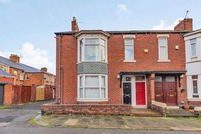 3 bed flat for sale in Crofton Street, South Shields NE34