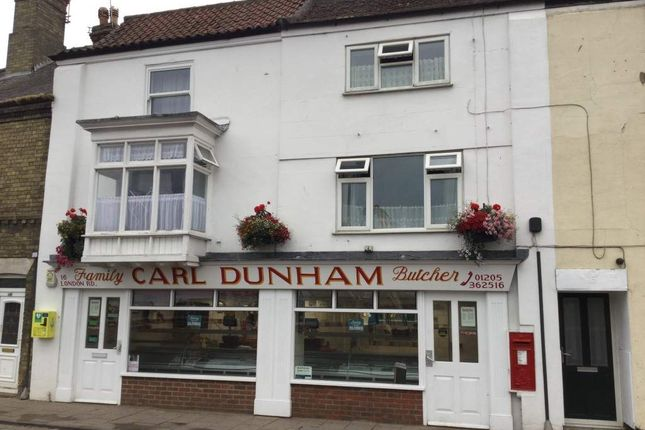 Thumbnail Retail premises for sale in London Road, Wyberton, Boston