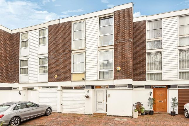 Thumbnail 4 bed town house for sale in Hornby Close, Swiss Cottage
