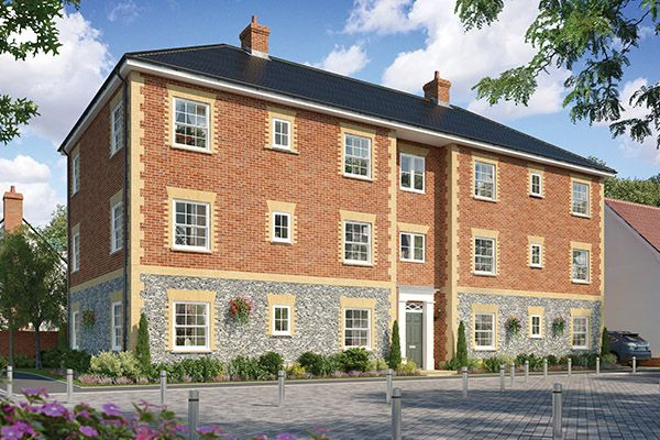 2 bedroom flat for sale in The Coleman Apartments, Cromer Road, Holt, Norfolk