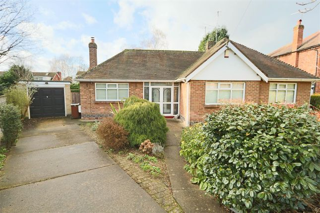 Thumbnail Detached bungalow for sale in Mossdale Road, Sherwood Dales, Nottingham