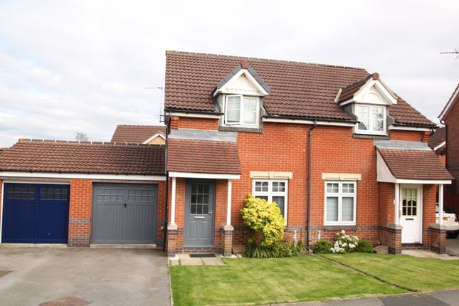 Thumbnail Semi-detached house to rent in Clover Way, Harrogate