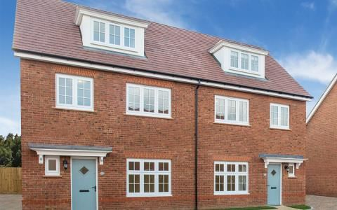 Thumbnail Town house for sale in The Maltings, Newport Road, Llantarnam, Newport