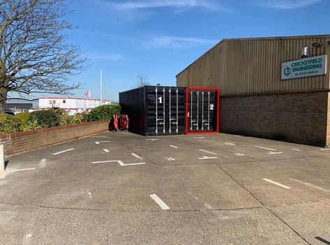 Industrial to let in Container 2, Robert Leonard Industrial Park, Aviation Way, Southend-On-Sea