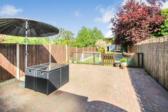 Thumbnail End terrace house for sale in Norwich Road, Costessey, Norwich