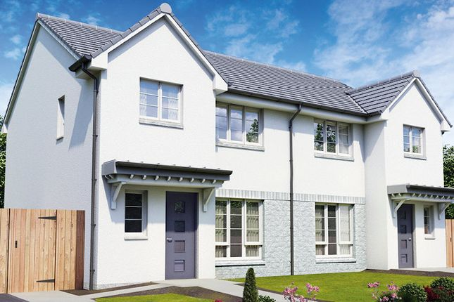 "Thumbnail Semi-detached house for sale in ""The Carrick"" at Dale Avenue, Cambuslang, Glasgow"