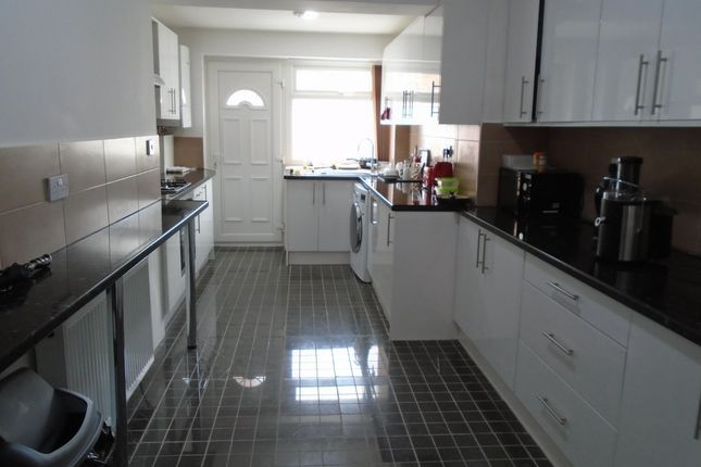 Thumbnail End terrace house to rent in Maine Road, Manchester