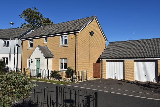 Thumbnail Detached house for sale in Trafalgar Road, Greenacres, Exeter