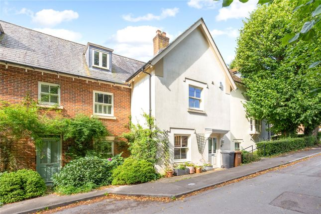 Semi-detached house for sale in Mill Lane, Wherwell, Andover, Hampshire