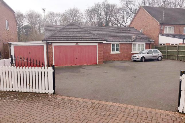 Thumbnail Detached bungalow for sale in Rockery Close, Off Uppingham Road, Leicester