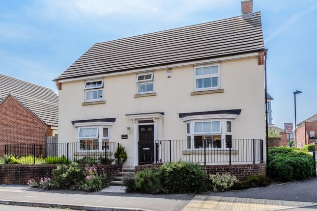 Thumbnail Detached house for sale in The Willows, Devizes, Wiltshire