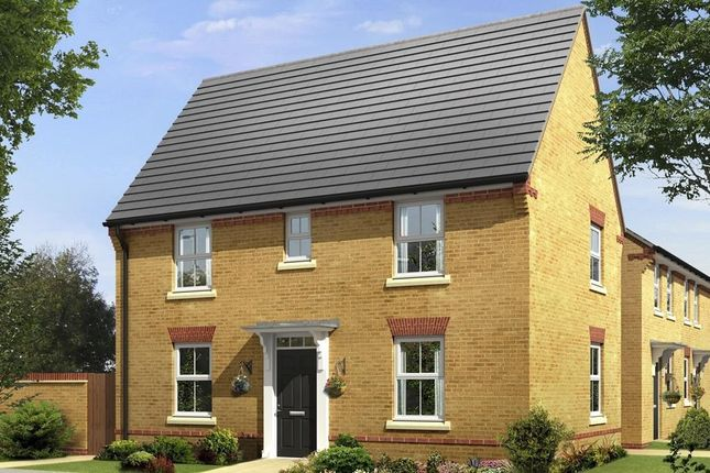 "Thumbnail Semi-detached house for sale in ""Hadley"" at Kipling Road, Ledbury"