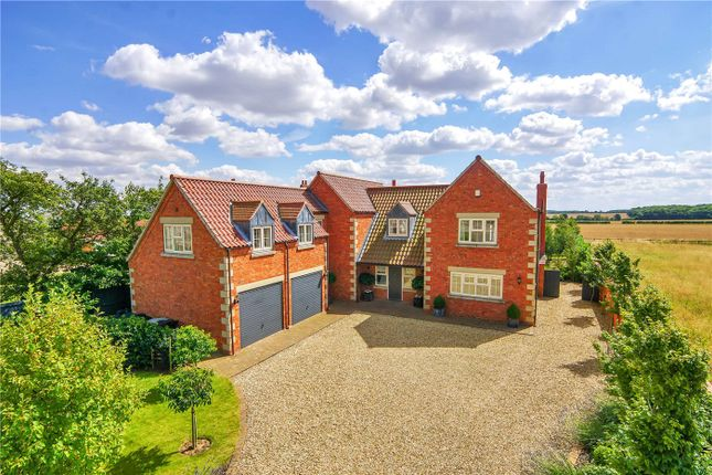Thumbnail Detached house for sale in Somerby Road, Ropsley, Grantham