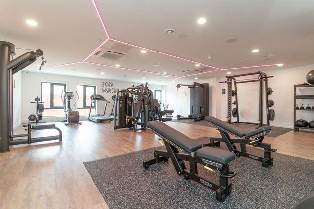 Gym (1) of Oxbow, Back Hulme Street, Salford M5