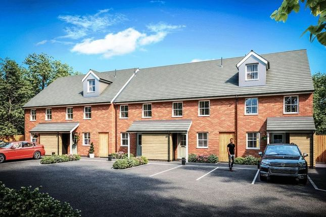 Thumbnail Terraced house for sale in Plot One Talbot Mews, Newcastle Road, Market Drayton