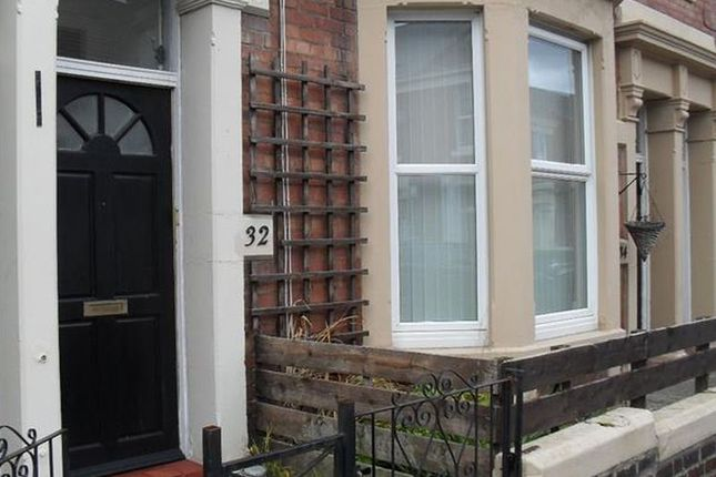 Thumbnail Flat to rent in Donkin Terrace, North Shields