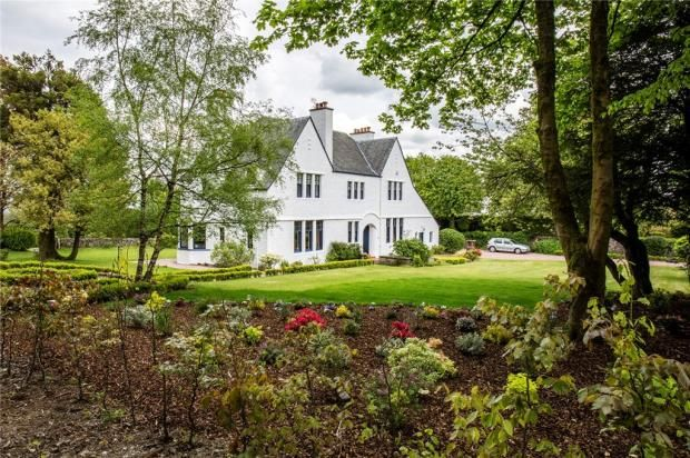 Thumbnail Detached house for sale in The Homestead, Golf Course Road, Bridge Of Weir, Renfrewshire
