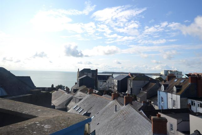 Thumbnail Maisonette for sale in Tudor Square, Tenby