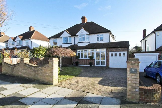 Thumbnail Semi-detached house for sale in Rennets Wood Road, Eltham Height's, London