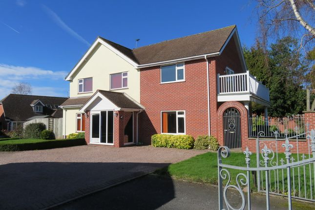 Thumbnail Detached house to rent in Folly Lane, Holmer, Hereford
