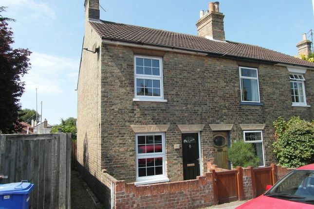 Thumbnail End terrace house to rent in All Saints Road, Pakefield, Lowestoft