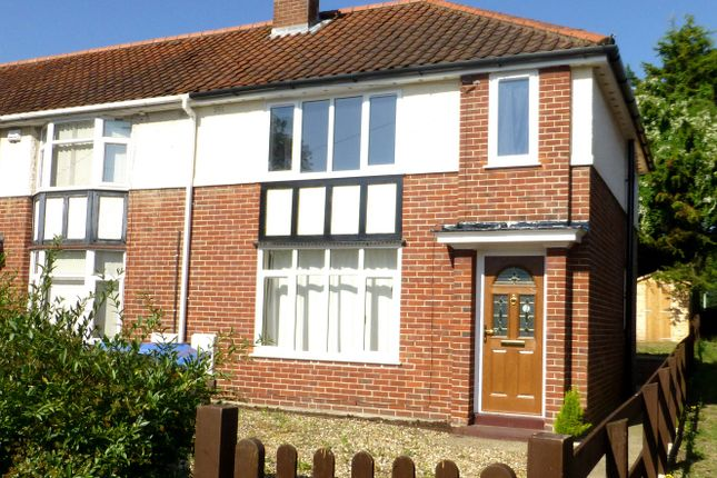 3 bed semi-detached house to rent in Beeching Road, Norwich NR1