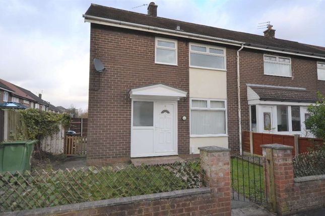 Thumbnail End terrace house to rent in Elworth Way, Handforth, Wilmslow