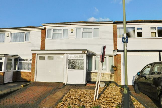 Thumbnail Terraced house for sale in Gale Moor Avenue, Gosport