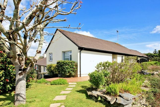 Thumbnail Detached bungalow for sale in Elerkey Close, Veryan, Truro