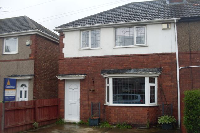 Thumbnail End terrace house for sale in St Leonards Avenue, Grimsby