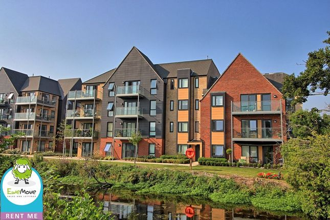 Thumbnail Flat to rent in River View, Bishop's Stortford